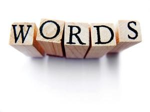 words