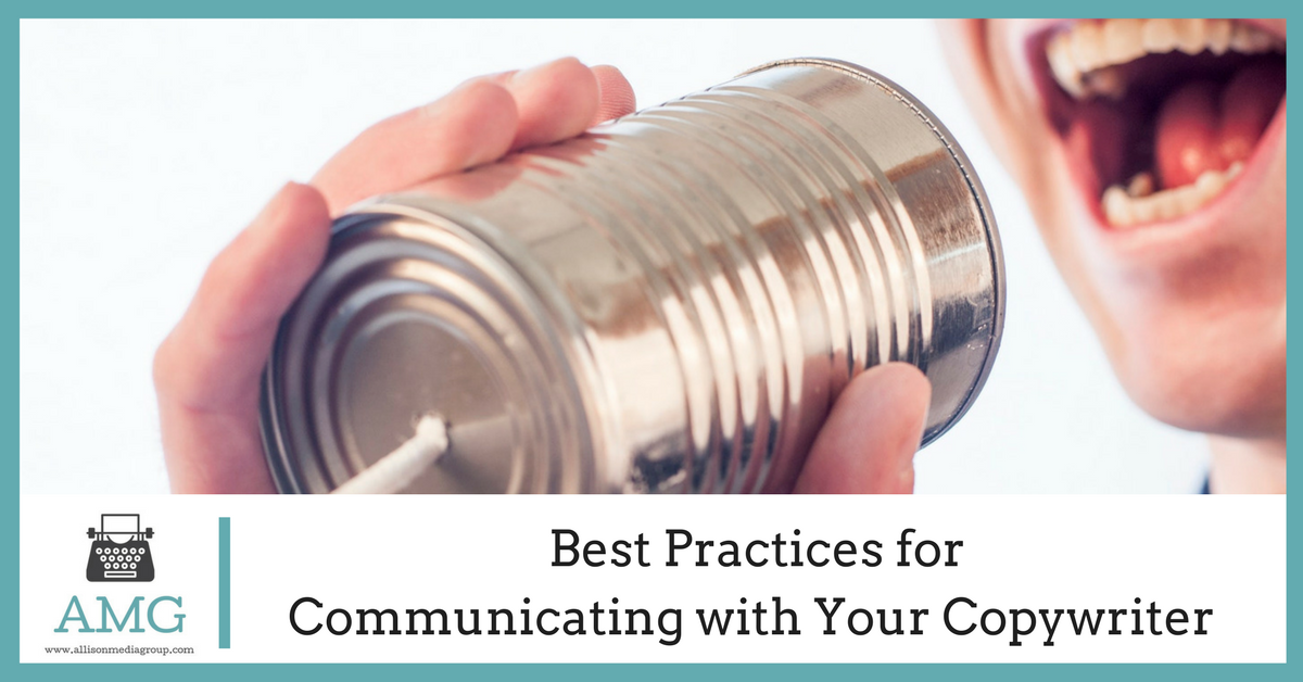 Best Practices for Communicating with Your Copywriter