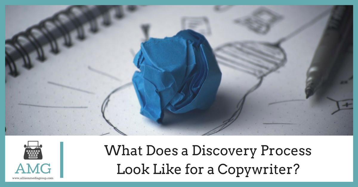 What Does a Discovery Process Look Like for a Copywriter?